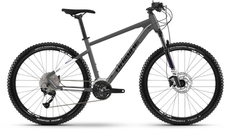 Haibike Seet 8 schwarz/weiß 2021 - Hardtail Mountainbike
