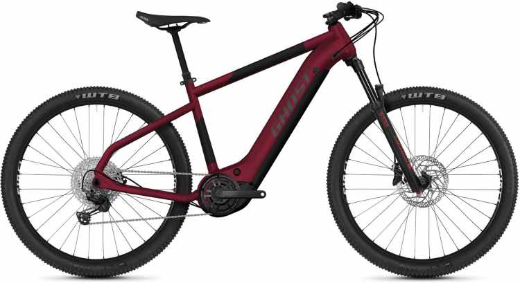Ghost E-Teru Advanced 29 red / black / gray 2021 - E-Bike Hardtail Mountainbike