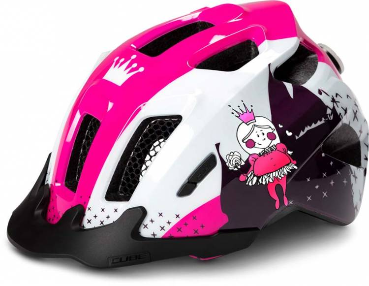 Cube Helm ANT white n pink