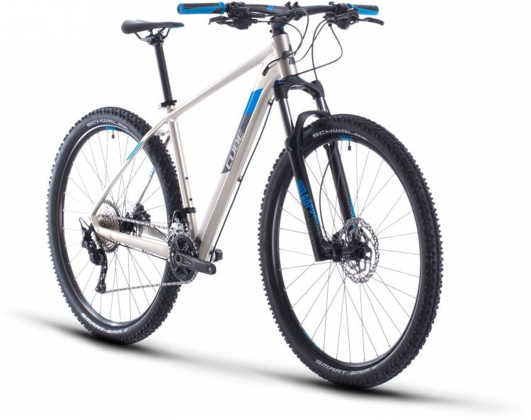 Cube Attention titanium n blue 2020 - Hardtail Mountainbike