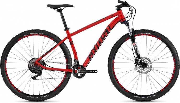 Ghost Kato 7.9 AL U riot red / night black 2020 - Hardtail Mountainbike