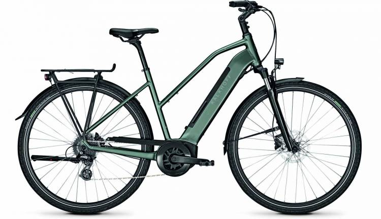 Kalkhoff Endeavour 3.B Move techgreen matt (Trapez) 2020 - E-Bike Trekkingrad Damen