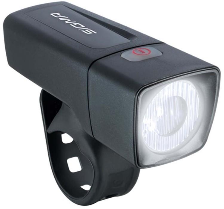 Sigma LED-Frontlampe Aura 25 schwarz