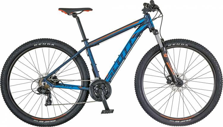 Scott Aspect 760 blue/orange 2018 - Hardtail Mountainbike