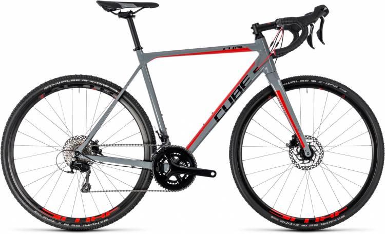 Cube Cross Race Pro grey n red 2018 - Cyclocross