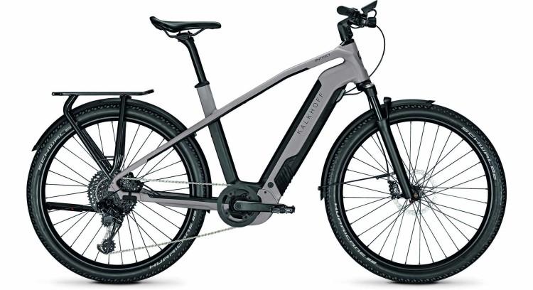 Kalkhoff Entice 7.B Advance moonstonegrey/magicblack matt (Diamond) 2021 - E-Bike Trekkingrad Herren