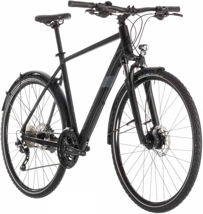 Cube Nature EXC Allroad black n grey - Herren 2019
