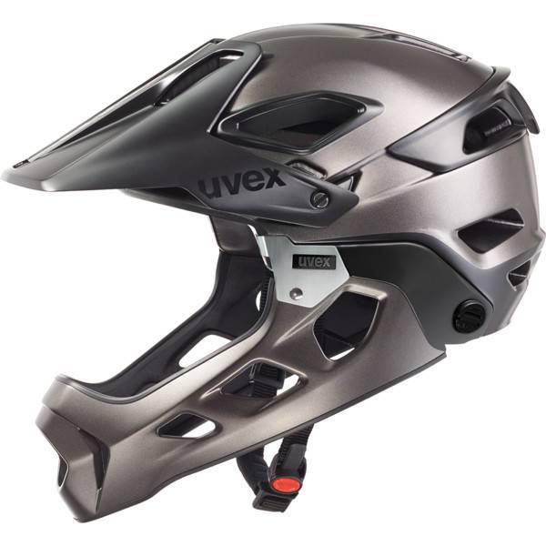 Uvex jakkyl hde black-dark silver mat
