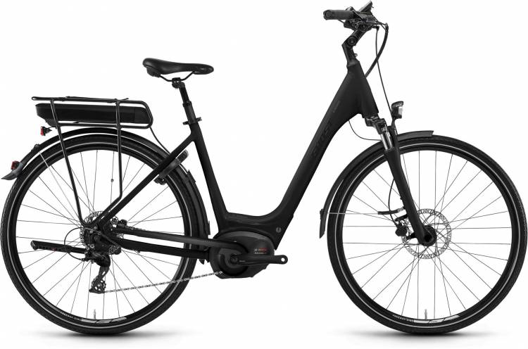 Ghost Hybride Square Wave B9.8 AL 2018 - Tiefeinsteiger E-Bike Trekkingrad