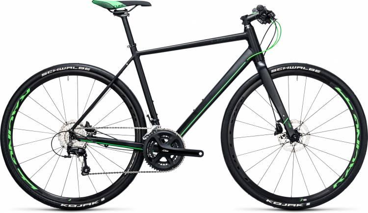 Cube SL Road Race black n flashgreen 2017