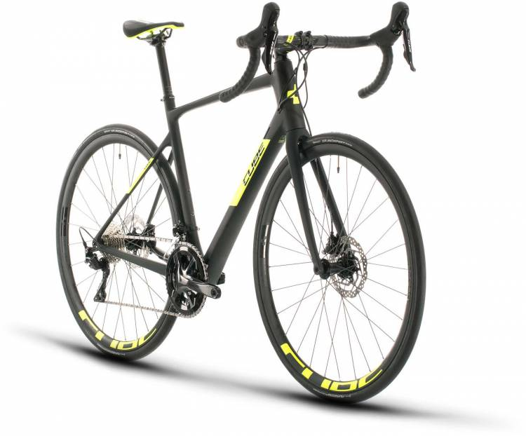 Cube Attain GTC Race carbon n flashyellow 2020 - Carbon Rennrad Herren