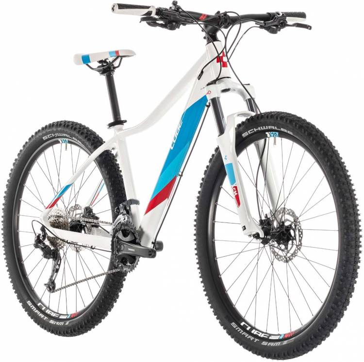 Cube Access WS Pro white n blue 2019