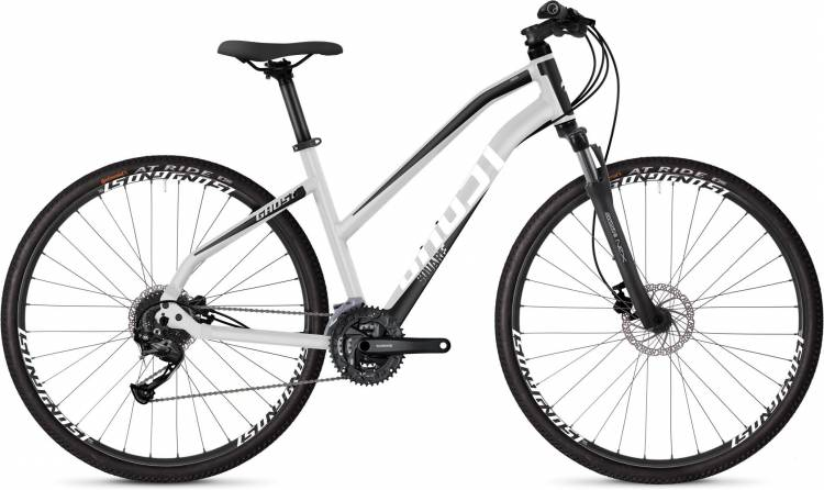 Ghost Square Cross 1.8 AL W iridium silver / jet black / star white 2020 - Crossrad Damen