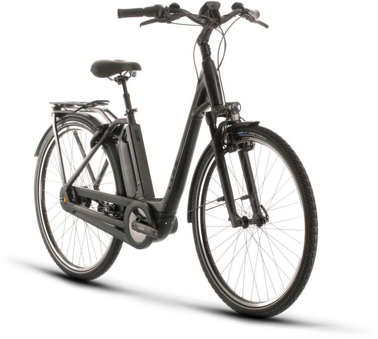 Cube Town Hybrid EXC 500 black edition 2020 - E-Bike Trekkingrad Tiefeinsteiger