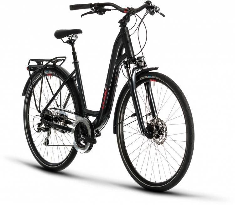 Cube Touring ONE iridium n red 2020 - Trekkingrad Tiefeinsteiger