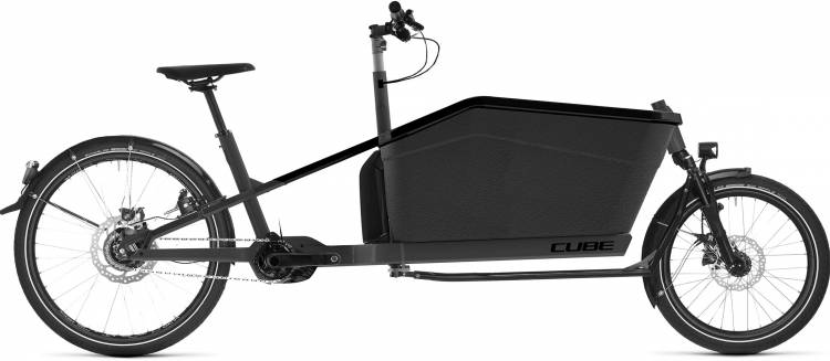 cube cargo hybrid 2020 e bike lastenfahrrad e bike. Black Bedroom Furniture Sets. Home Design Ideas