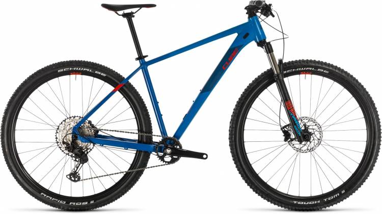 Cube Reaction Pro blue n red 2020 - Hardtail Mountainbike