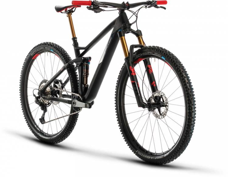 Cube Stereo 120 HPC SLT 29 carbon n red 2020 - Fully Mountainbike