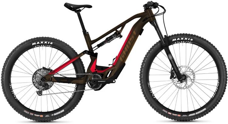 Ghost Hybride ASX Essential 160 brown / pink 2021 - E-Bike Fully Mountainbike