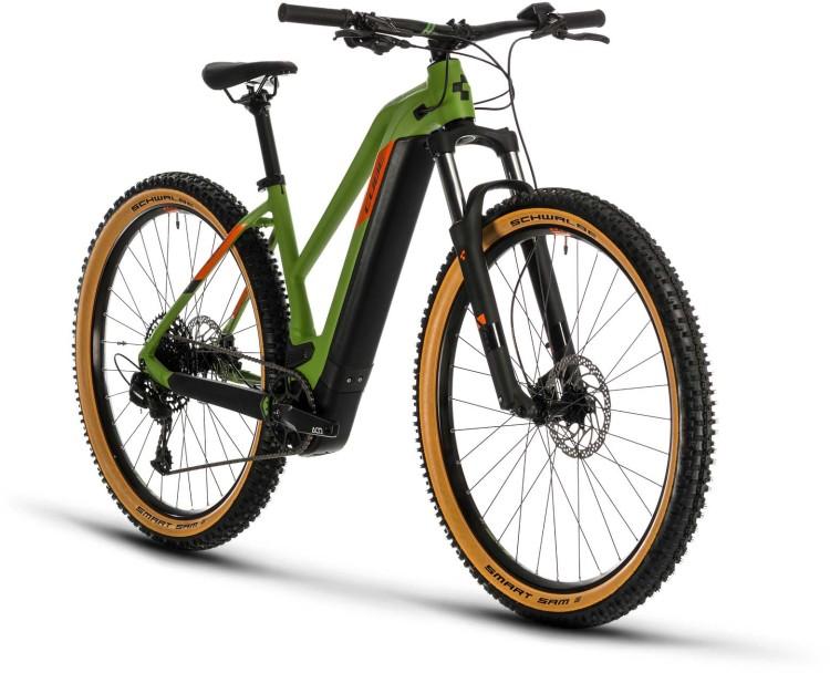 Cube Reaction Hybrid EX 625 29 green n orange 2020 - E-Bike Hardtail Mountainbike Damen