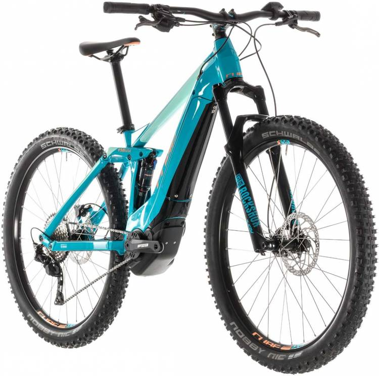 Cube Sting Hybrid 120 Race 500 turquoise n apricot 2019