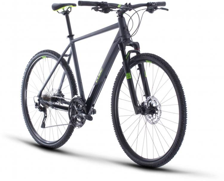Cube Cross Pro iridium n green 2020 - Crossrad Herren