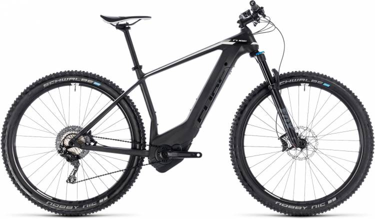 Cube Elite Hybrid C:62 SL 500 29 black n white 2018 - E-Bike Hardtail Mountainbike