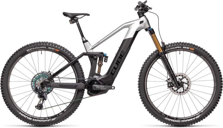 Cube Stereo Hybrid 140 HPC SLT 625 Nyon carbon n prizmsilver 2021 - E-Bike Fully Mountainbike