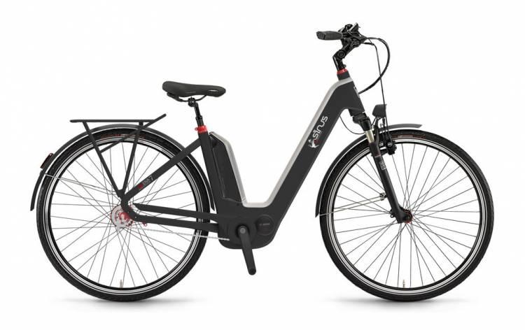 "Sinus Ena7f 400Wh 28"" FL mysterypearl matt 2017 - Tiefeinsteiger E-Bike Trekkingrad"