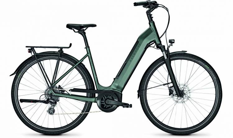 Kalkhoff Endeavour 3.B Move techgreen matt (Wave) 2020 - E-Bike Trekkingrad Tiefeinsteiger