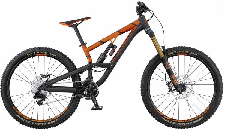Scott Voltage FR 710 2017 - Fully Mountainbike