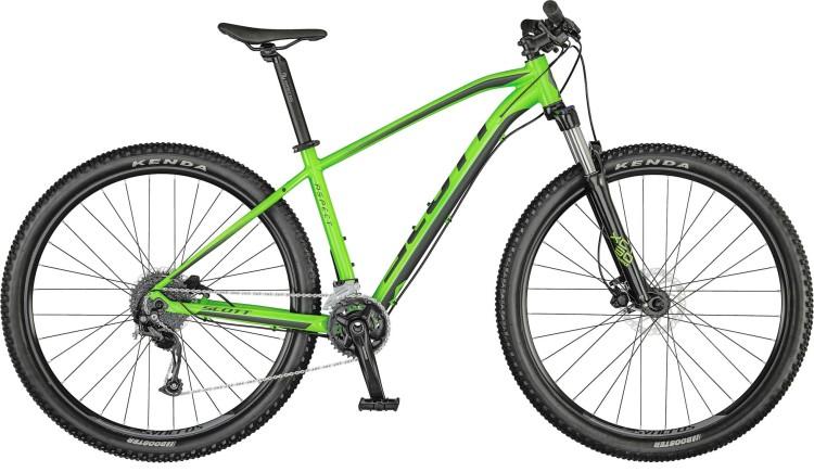 Scott Aspect 750 smith green / dark grey 2021 - Hardtail Mountainbike
