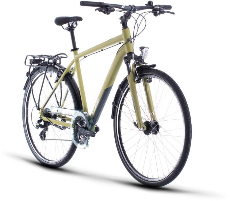 Cube Touring green n white 2020 - Trekkingrad Herren
