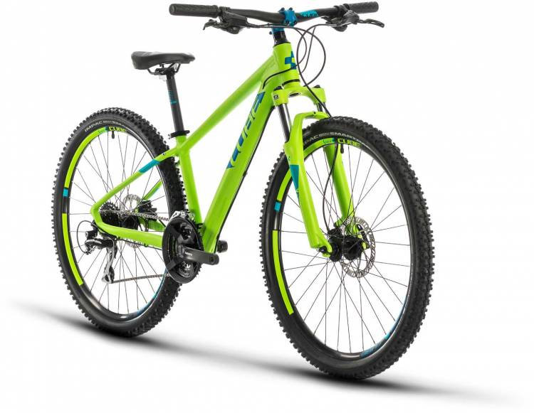 Cube Acid 260 Disc green n blue 2021 - Kinderrad 26 Zoll