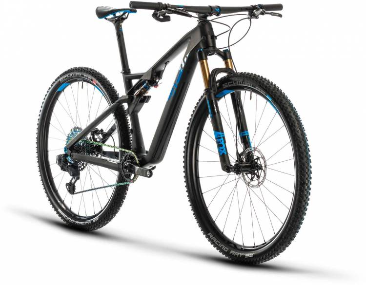 Cube AMS 100 C:68 SLT 29 carbon n blue 2020 - Fully Mountainbike