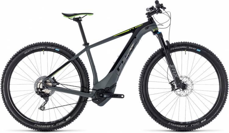 Cube Reaction Hybrid SLT 500 grey n green 2018 - E-Bike Hardtail Mountainbike