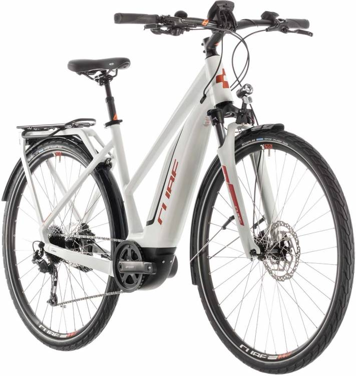Cube Touring Hybrid 500 grey n orange - Trapez 2019 - Lackschaden