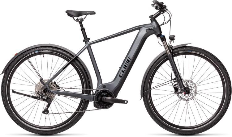 Cube Nature Hybrid EXC 625 Allroad iridium n black 2021 - E-Bike Crossrad Herren