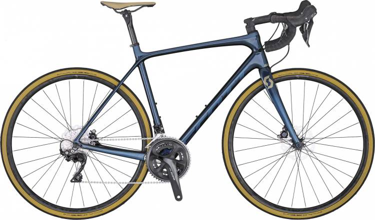 Scott Addict 20 disc dark blue 2020