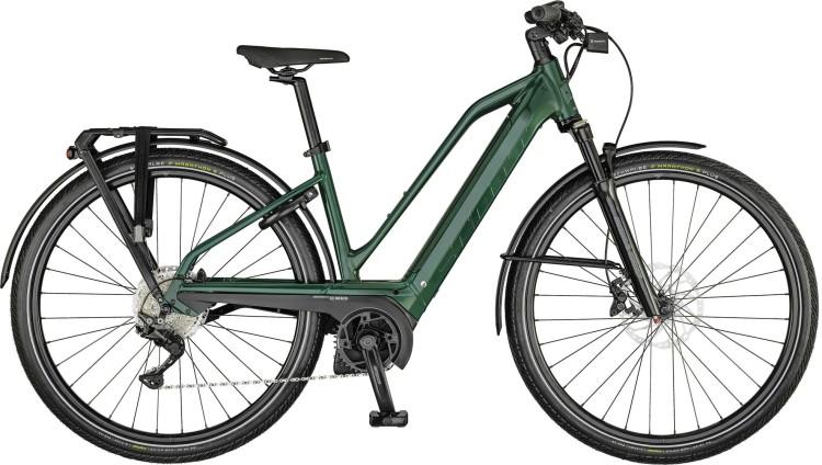 Scott Silence eRIDE 30 Lady deep teal green 2021 - E-Bike Trekkingrad Damen