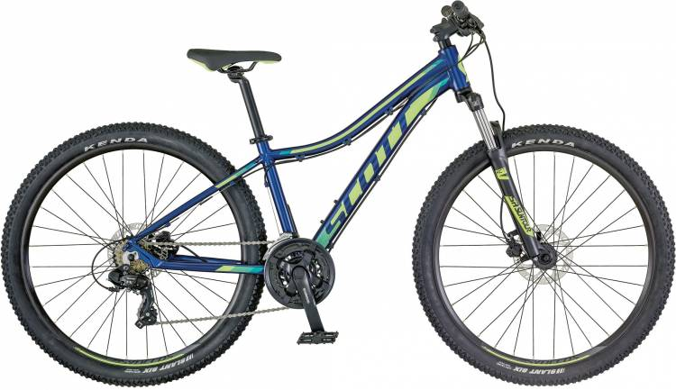 Scott Contessa 730 dark blue/teal 2018 - Damen Hardtail Mountainbike