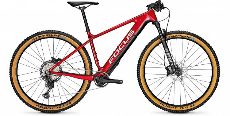 Focus Raven2 9.8 Barolored 2020 - E-Bike Hardtail Mountainbike