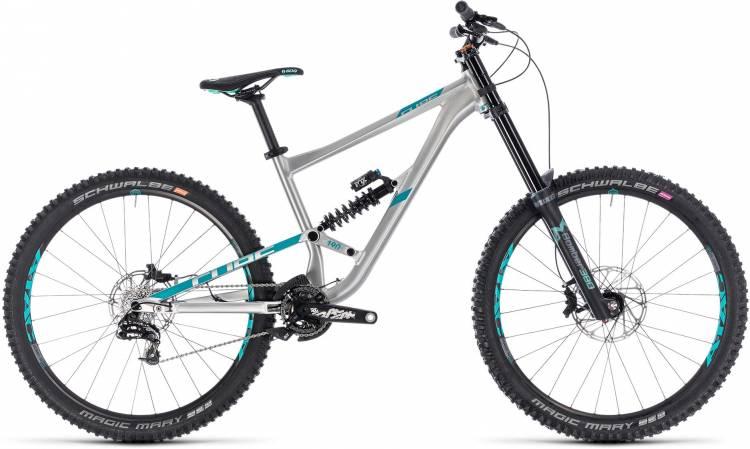 Cube Hanzz 190 SL 27.5 metal n mint 2018 - Fully Mountainbike