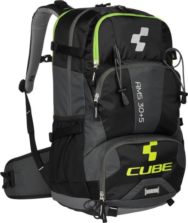 Cube Rucksack AMS 30+5 Volumen: 30+5 Liter black n green
