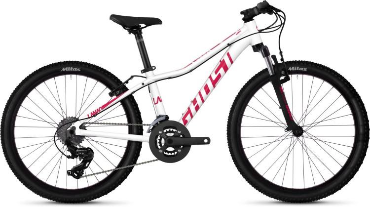 Ghost Lanao 2.4 AL W star white / ruby pink 2020 - Kinderrad 24 Zoll