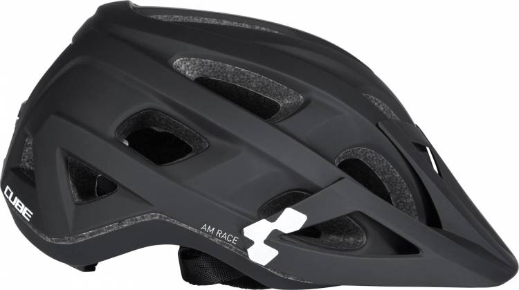 Cube Helm AM RACE black n white