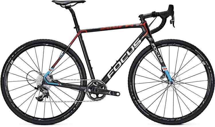 Focus Mares Force 1 carbon/red/blue 2017 - Cyclocross