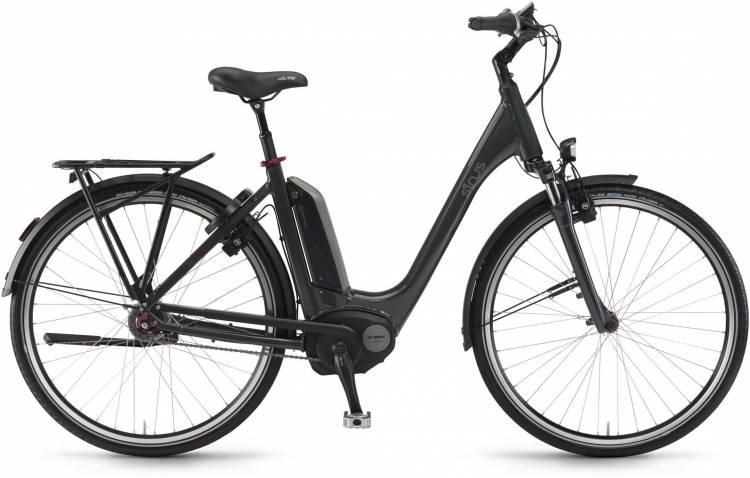 "Sinus Tria N8f 500Wh 28"" mysterypearl 2017 - Tiefeinsteiger E-Bike Trekkingrad"