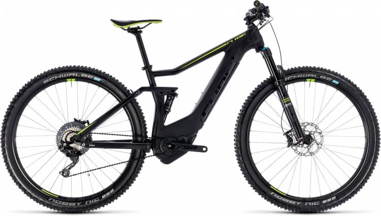 Cube Stereo Hybrid 120 HPC SL 500 black n green 2018 - E-Bike Fully Mountainbike