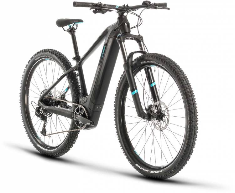 Cube Access Hybrid EX 625 29 black n aqua 2020 - E-Bike Hardtail Mountainbike